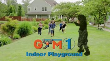Gym1 Indoor Playground TV Spot, 'Bring the Fun Indoors' - Thumbnail 1