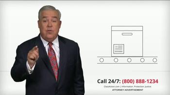ClassAction.com TV Spot, 'Products May Have Dangerous Defects' - Thumbnail 1