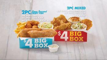 Church's Chicken Restaurants $4 Big Box TV Spot, 'Fish or Chicken'