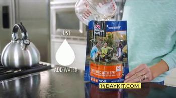 Mountain House 14-Day Emergency Supply Kit TV Spot, 'Comforting' - Thumbnail 4