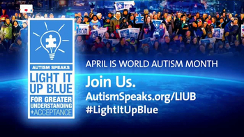 Autism Speaks TV Spot, 'Light It Up Blue 2017' - Thumbnail 9
