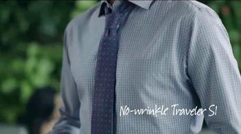 JoS. A. Bank Traveler Shirt TV Spot, 'Most Loved' - Thumbnail 5