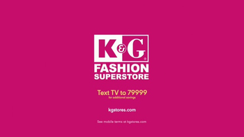 K&G Fashion Superstore TV Spot, 'Celebrate Spring' - Thumbnail 10
