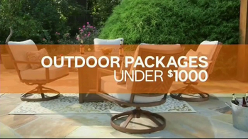 Ashley Homestore TV Spot, 'Outdoor Packages' - Thumbnail 4