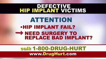 Danziger & De Llano TV Spot, 'Hip Implant and Hernia Mesh' - Thumbnail 2