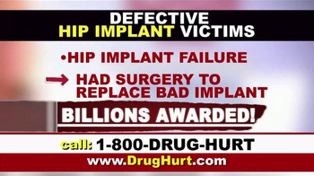 Danziger & De Llano TV Spot, 'Hip Implant and Hernia Mesh' - Thumbnail 3
