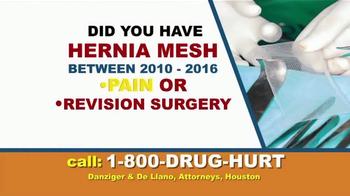 Danziger & De Llano TV Spot, 'Hip Implant and Hernia Mesh' - Thumbnail 5