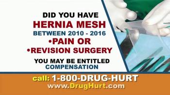 Danziger & De Llano TV Spot, 'Hip Implant and Hernia Mesh' - Thumbnail 6