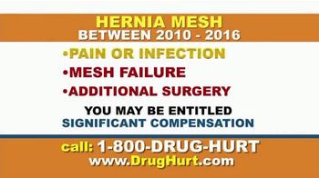 Danziger & De Llano TV Spot, 'Hip Implant and Hernia Mesh' - Thumbnail 7