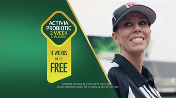 Dannon Activia TV Spot, 'Healthy Routine' Ft. Sarah Thomas - Thumbnail 6