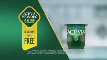 Dannon Activia TV Spot, 'Healthy Routine' Ft. Sarah Thomas - Thumbnail 2