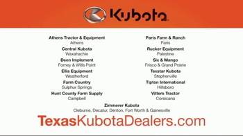 Kubota Orange Opportunity Sales Event TV Spot, 'Take Command' - Thumbnail 4