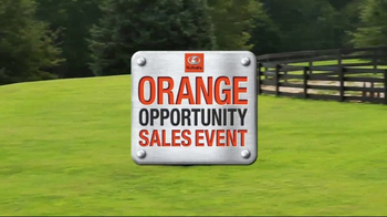 Kubota Orange Opportunity Sales Event TV Spot, 'Take Command' - Thumbnail 1