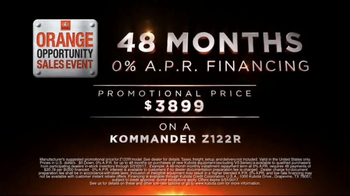 Kubota Orange Opportunity Sales Event TV Spot, 'Take Command' - Thumbnail 3