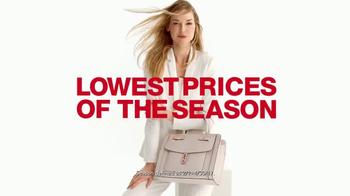Macy's Semi Annual Diamond Sale TV Spot, 'Diamonds and Shoes' - Thumbnail 1
