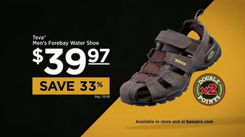 Bass Pro Shops TV Spot, 'Water Shoes, Shorts & Easter' - Thumbnail 3