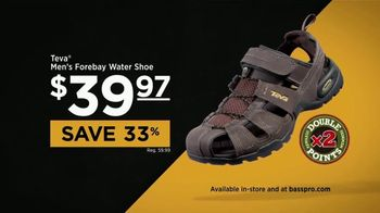Bass Pro Shops TV Spot, 'Water Shoes, Shorts & Easter' - 144 commercial airings