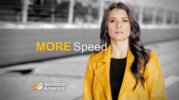 Advance America TV Spot, 'Twists and Turns' Featuring Danica Patrick