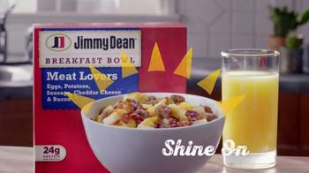Jimmy Dean Meat Lovers Breakfast Bowl TV Spot, 'Mid-Morning Wall: Elevator' - Thumbnail 8