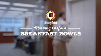 Jimmy Dean Meat Lovers Breakfast Bowl TV Spot, 'Mid-Morning Wall: Elevator' - Thumbnail 2