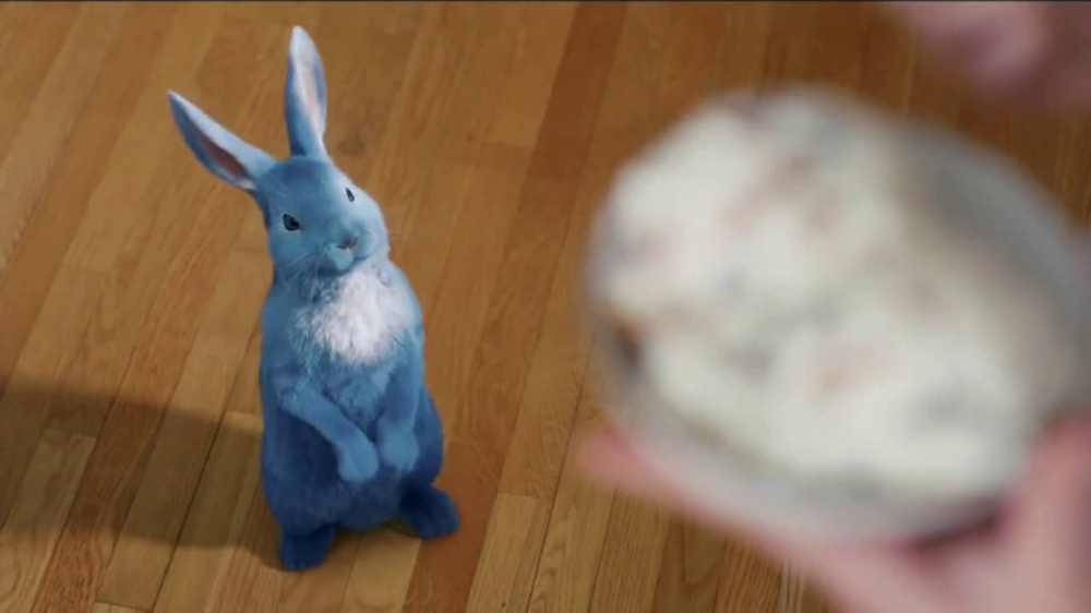 Blue Bunny Ice Cream PB 'N Cones TV Commercial, 'By A Hare