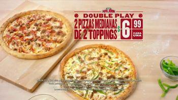 Papa John's Double Play TV Spot, 'Béisbol' [Spanish] - 285 commercial airings