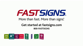 Fast Signs TV Spot, 'Get Back on Track' - Thumbnail 10