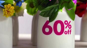 Jo-Ann Daffodil Dash Sale TV Spot, 'Fresh-Picked Choices' - Thumbnail 5