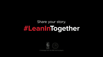 Lean In TV Spot, 'Gender Equality' Featuring Jrue Holiday, Kyle Lowry - Thumbnail 9