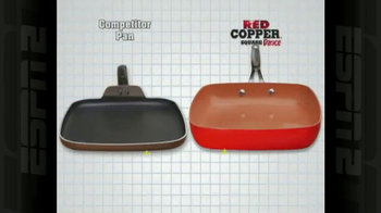 Red Copper Square Dance Pan TV Spot, 'No Scratching or Sticking' - Thumbnail 7