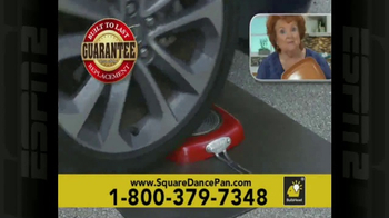 Red Copper Square Dance Pan TV Spot, 'No Scratching or Sticking' - Thumbnail 8