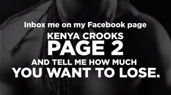 Kenya Crooks and The Real Results Experience TV Spot, 'Facebook Page' - Thumbnail 7