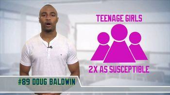 Committee for Children TV Spot, 'Cyber Bullying' Featuring Doug Baldwin - 5 commercial airings