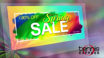 Tennis Express Spring Sale TV Spot, 'Shoes, Apparel and Free Stringing' - Thumbnail 1