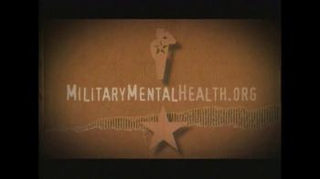 Screening for Mental Health TV Spot, 'Military Mental Health' - Thumbnail 9