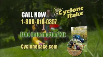Cyclone Rake TV Spot, 'Spring Cleanup' - Thumbnail 9