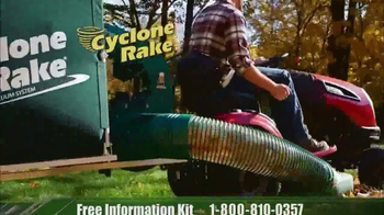 Cyclone Rake TV Spot, 'Spring Cleanup' - Thumbnail 3