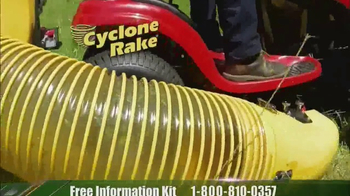 Cyclone Rake TV Spot, 'Spring Cleanup' - Thumbnail 4