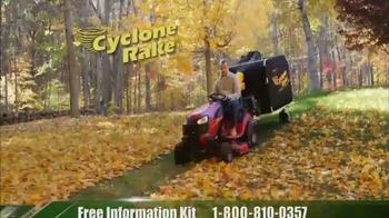 Cyclone Rake TV Spot, 'Spring Cleanup' - Thumbnail 5