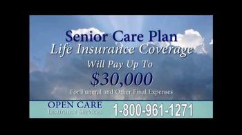 Open Care Insurance Services TV Spot, 'Senior Care Plan Information'