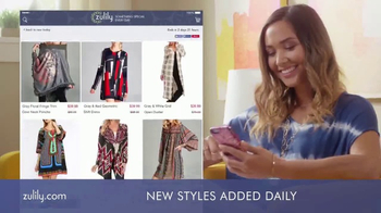 Zulily TV Spot, 'Love What You Wear' - Thumbnail 3