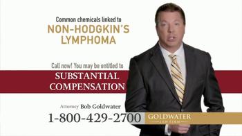 Goldwater Law Firm TV Spot, 'Non-Hodgkin's Lymphoma' - Thumbnail 4