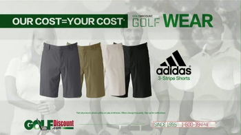 GolfDiscount.com TV Spot, 'Our Cost Is Your Cost: Shorts' - Thumbnail 2