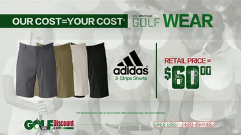 GolfDiscount.com TV Spot, 'Our Cost Is Your Cost: Shorts' - Thumbnail 3