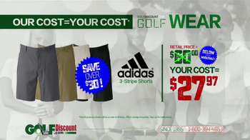 GolfDiscount.com TV Spot, 'Our Cost Is Your Cost: Shorts' - Thumbnail 4