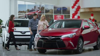 Toyota 1 For Everyone Sales Event TV Spot, '2017 Camry or Camry SE' [T2] - Thumbnail 1