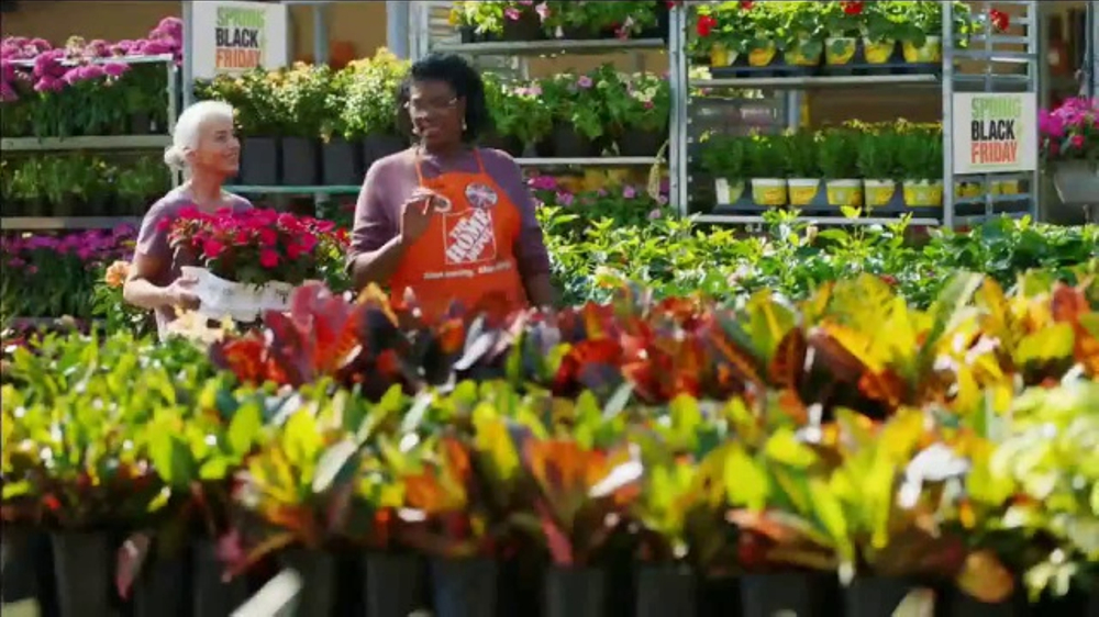The Home Depot Spring Black Friday Tv Commercial More
