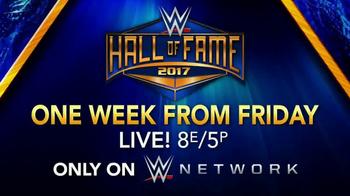WWE Network TV Spot, 'Hall of Fame 2017' - Thumbnail 10