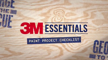 3M TV Spot, 'George to the Rescue: Paint Project' - Thumbnail 2