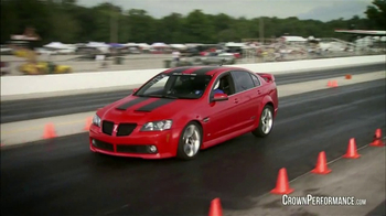 Crown Performance Products TV Spot, 'Extra Stopping Power' - Thumbnail 1